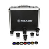 Meade Series 4000 1.25 Inch Plossl Eyepiece and Filter Set - 607001
