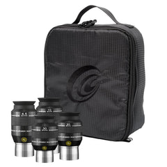 Explore Scientific 52º Argon-Purged Waterproof Eyepiece Set & Soft Case - EPWP52KIT