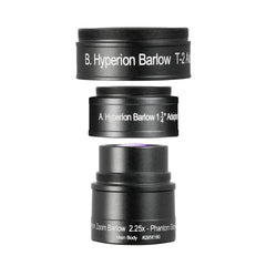 Baader Planetarium Hyperion Zoom 2.25x Barlow Lens - HYP-BARLOW