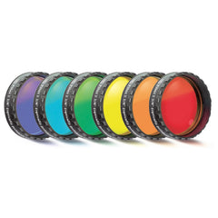 Baader Planetarium 6-Piece Color Eyepiece Filter Set - 1.25