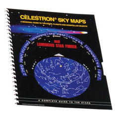 Celestron Sky Maps with Glow-in-the-Dark Star Finder - 93722