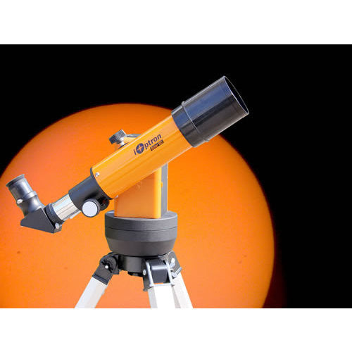 ioptron solar 60 telescope with solar filter and electronic eyepiece ...