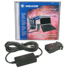 Meade #506 AstroFinder Software and Cable Connector Kit for ETX 70/80AT and DS2000 Series Telescopes - 04513
