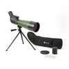 Zhumell 20-60x80 Angled Spotting Scope with Tripod & Soft Case