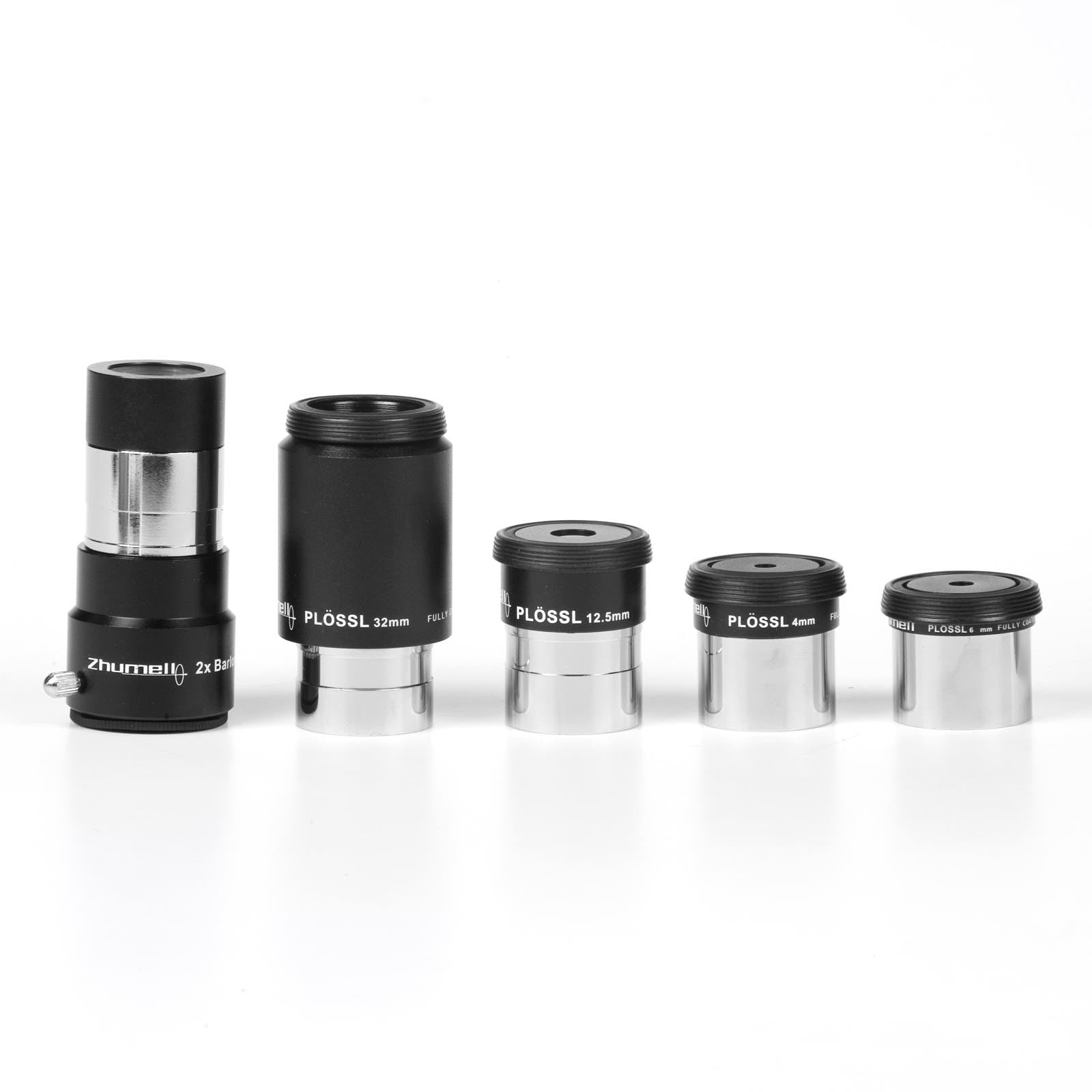 zhuolong Colorful Astronomical Telescopes Eyepieces Screw Thread Filter Kit with Storage Box 1.25 Inch