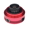 ZWO ASI120MC Color Imaging Camera with 150 Degree Lens Adapter