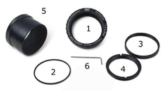 Baader Planetarium Protective Wide T-Ring System for Canon EOS - DSLRT
