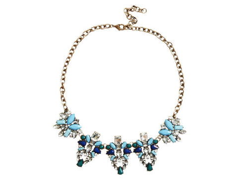 Blue Royals Necklace