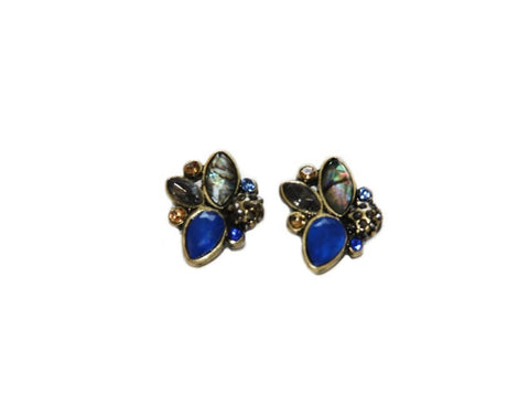 Blue Lagoon Stud Earrings Canada
