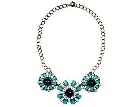 Aria Turquoise Necklace Zinnia West