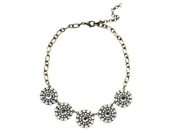 Bridal Jewelry Canada Crystal Florets Necklace