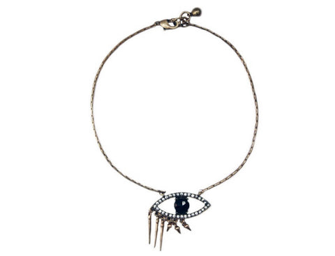 Evil Eye Pendant Necklace Zinnia West