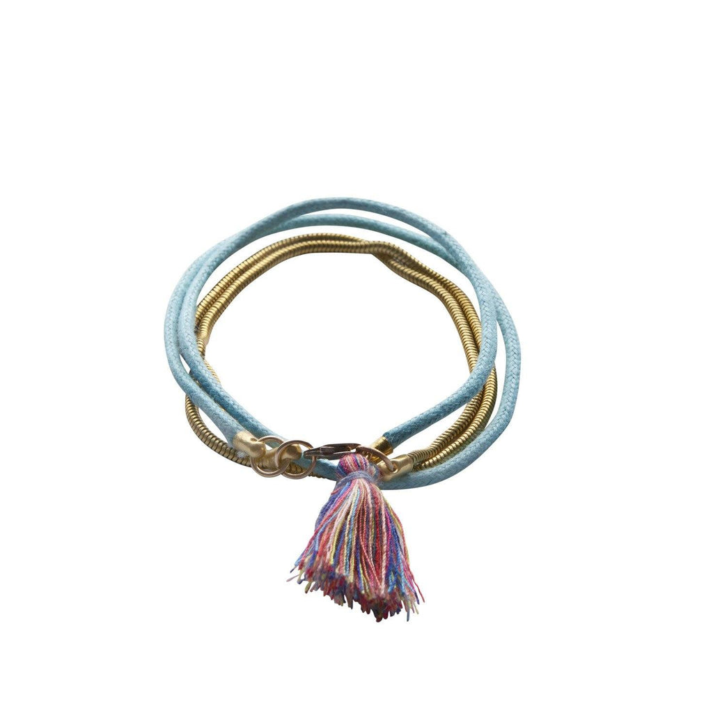 Wrap Bracelet with Tassel