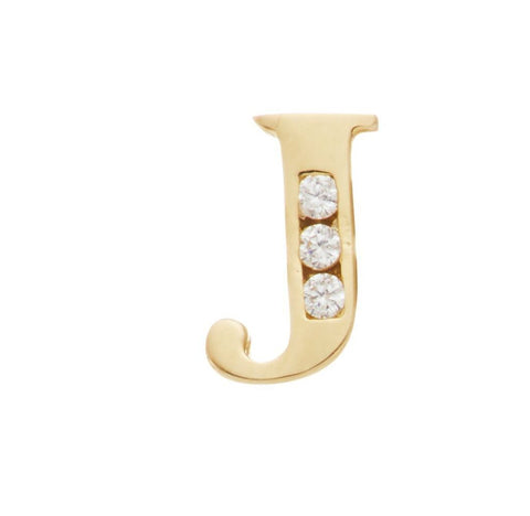 *NEW* 14KT Initial Studs