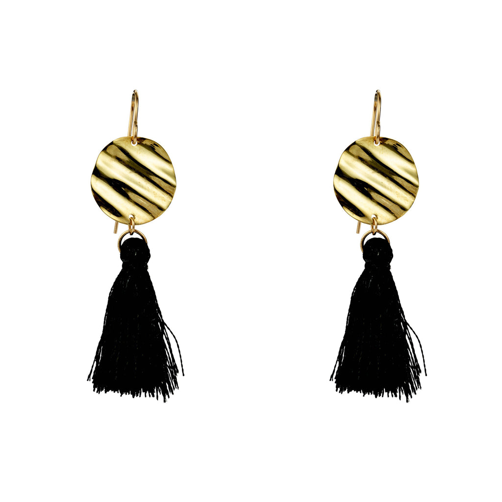 Nina Drops With Tassels