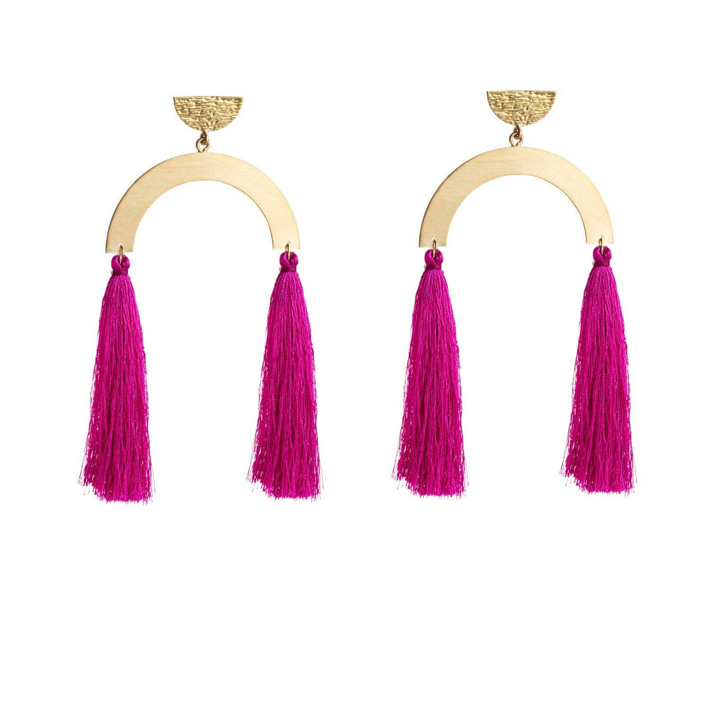 Shoulder Skimming Sofia Earring