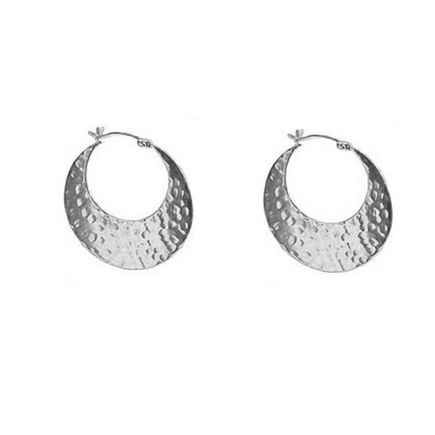 Reversible Slice Hoop Earrings