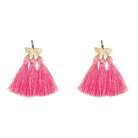 Ana Mini Sunrise Tassel Earring