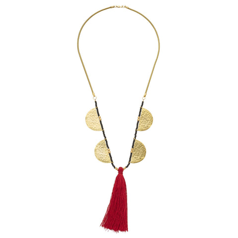 Aurora Tassel Necklace
