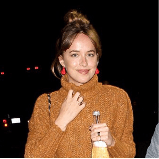 Bullet Stud with Tassel, Seen on Dakota Johnson