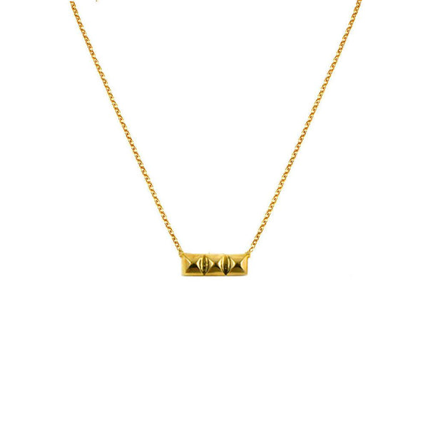 Flaca Picks: New 3-Tier Horizontal Bullet Necklace
