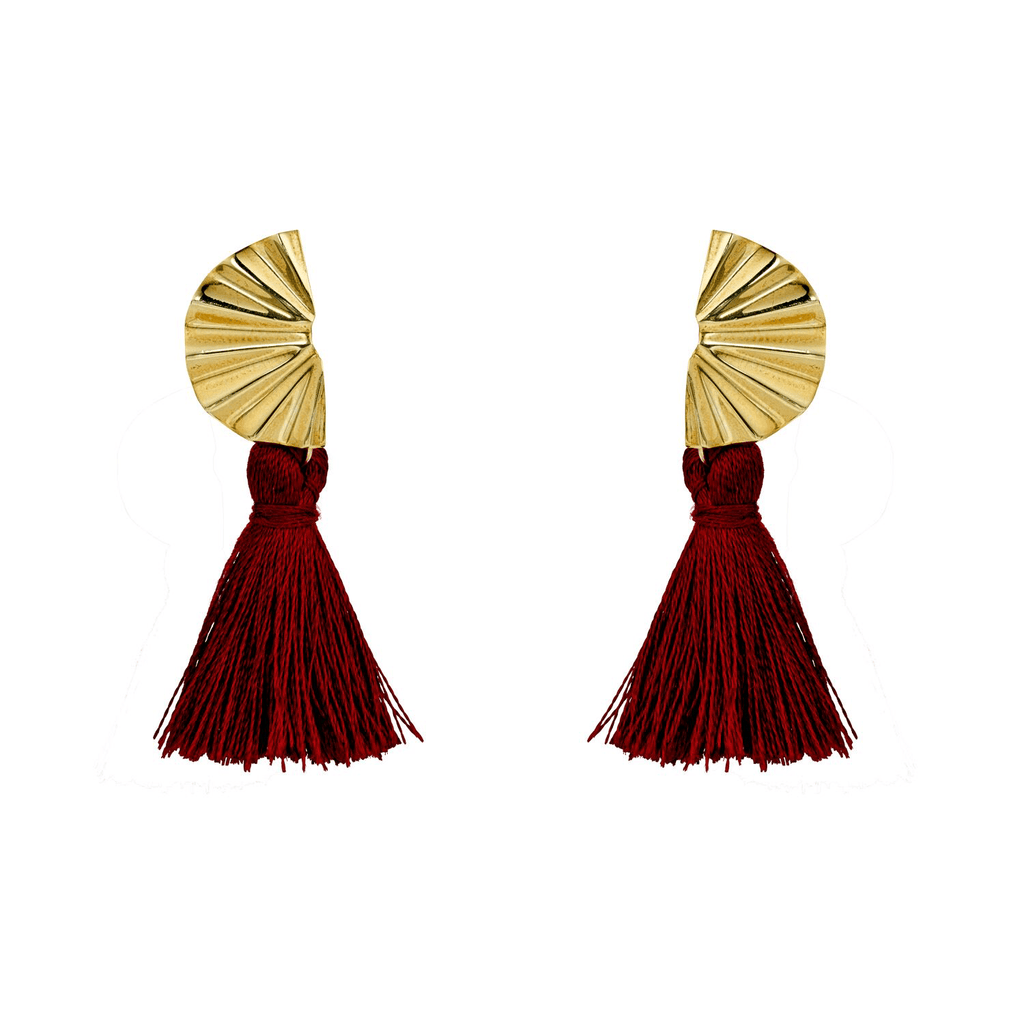 Cadiz Studs With Tassel
