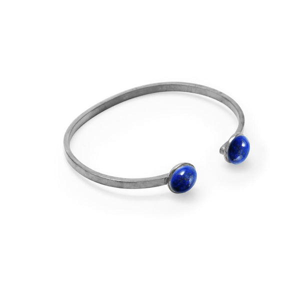 Double Stone Stacking Bangle, Just 1 Left!