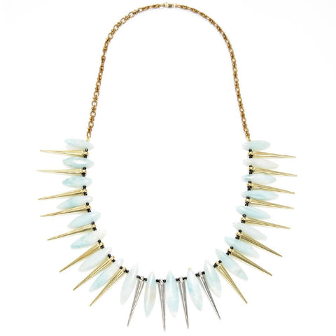 Small Tribal Necklace with Pave