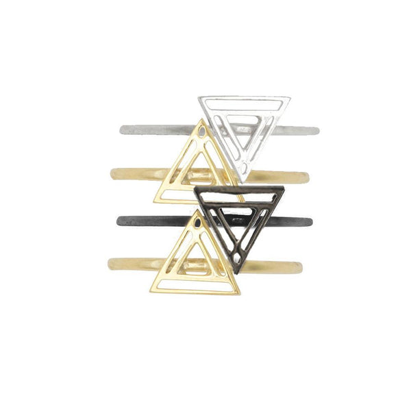 Triangle Stack Ring, Only 1 Left!