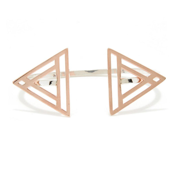 Winged Triangle Bangle, Only 1 Remains!