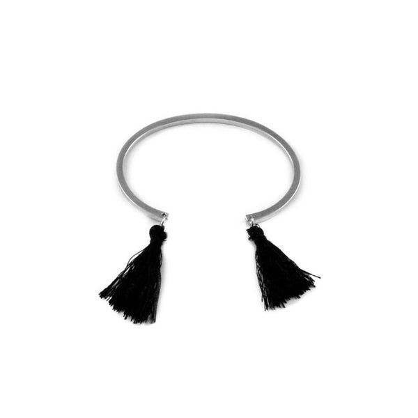 Square Tassel Bangle