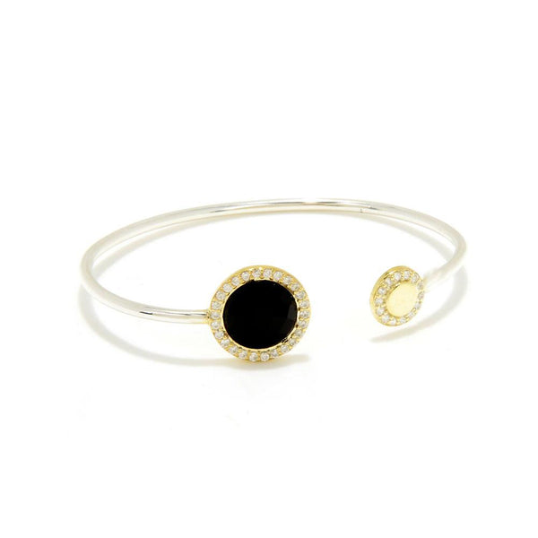 Large Halo Gypsy Bangle