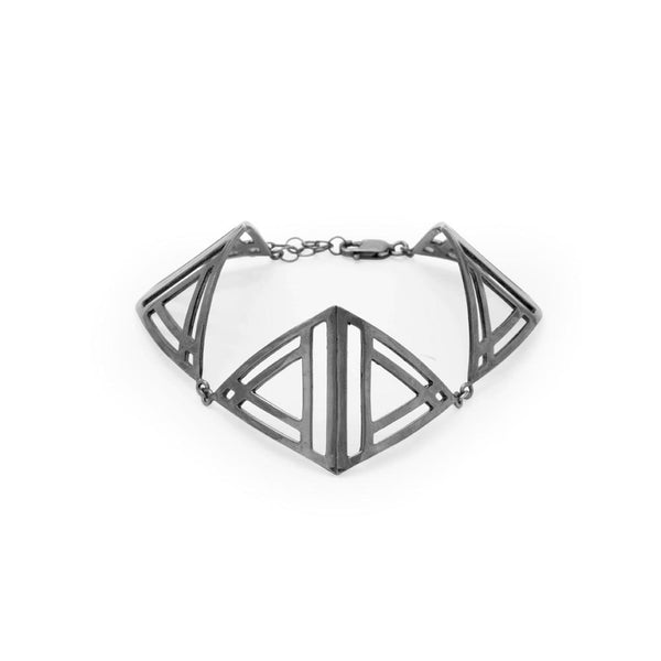 Triple Triangle Bracelet