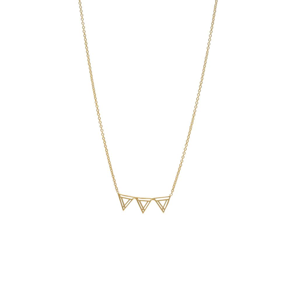 Southbound Triangle Layering Necklace