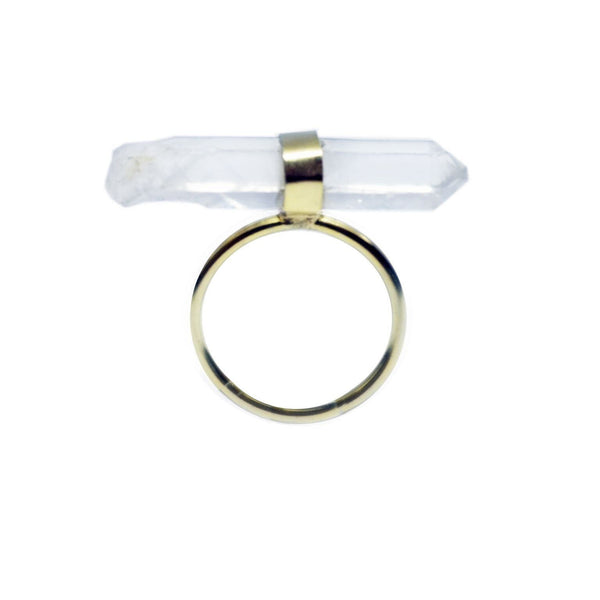 Horizontal Crystal Ring