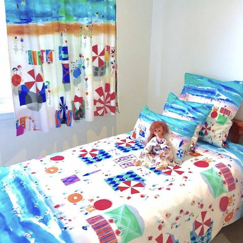 Mollymook Beach Design Bedding
