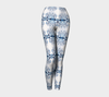 Snowflake Yoga Leggings