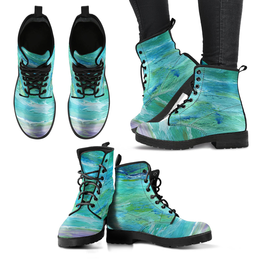 Seashore Vegan Leather Boots