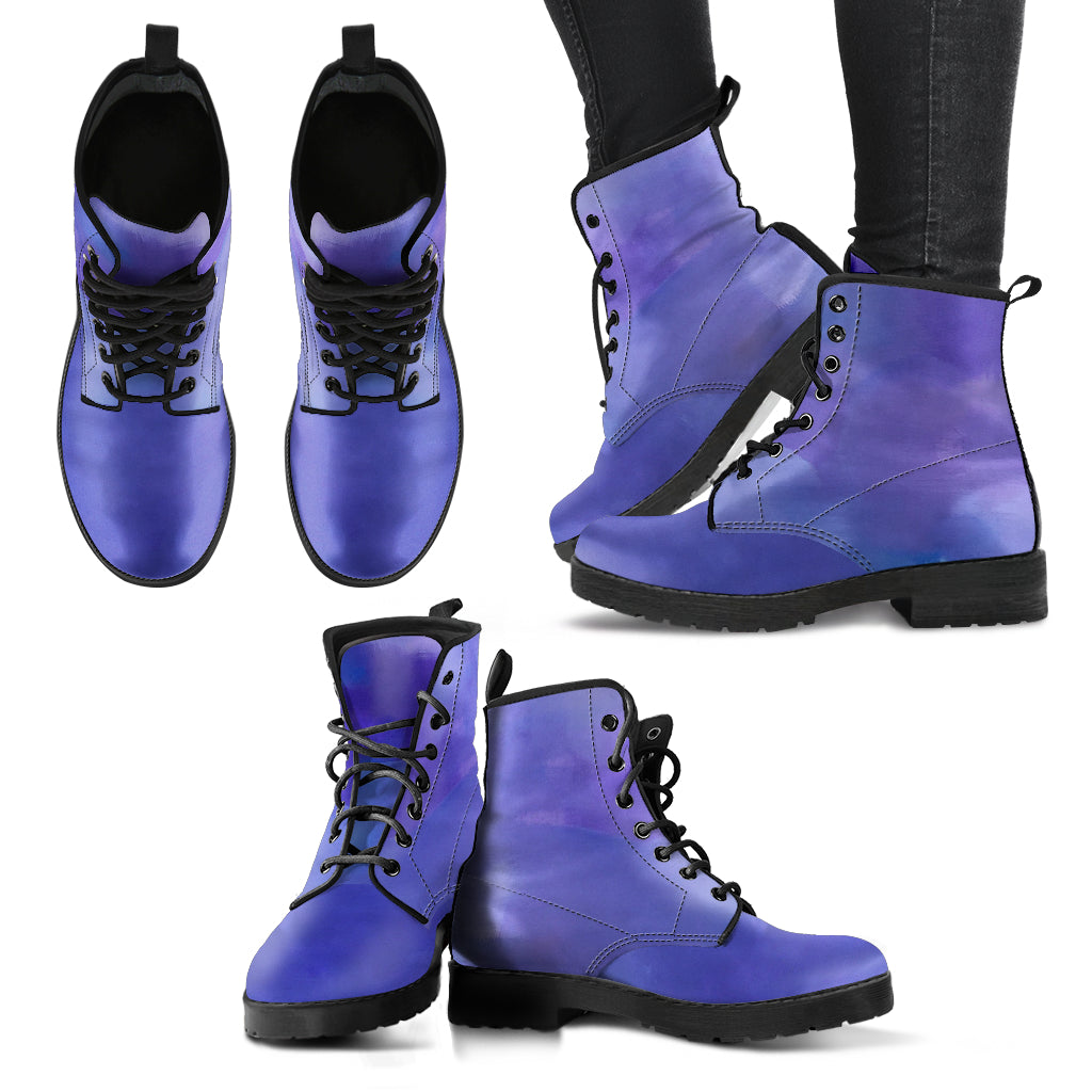 Purple Haze Vegan Leather Boots