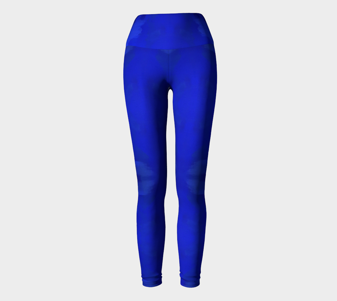 Blue Royale Pregnancy Yoga Leggings