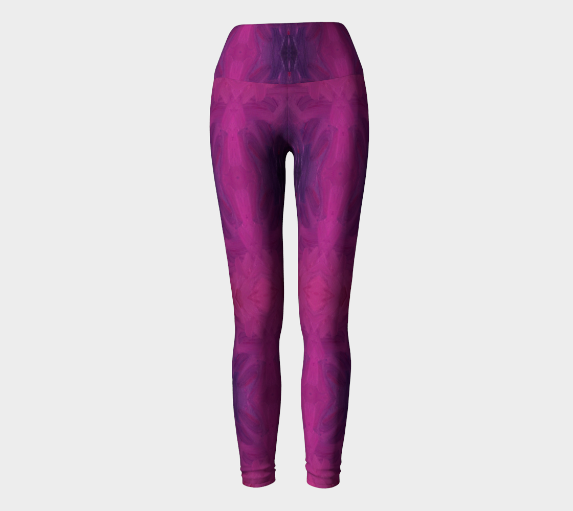 Plum Pregnancy Yoga Leggings