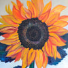 Sunflower Oil Painting 2018 by Stephanie Burns