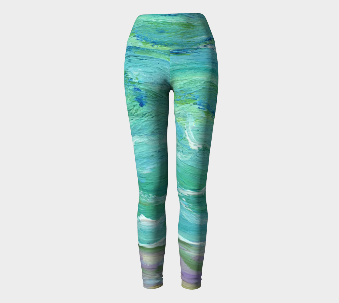 Seashore Yoga Leggings
