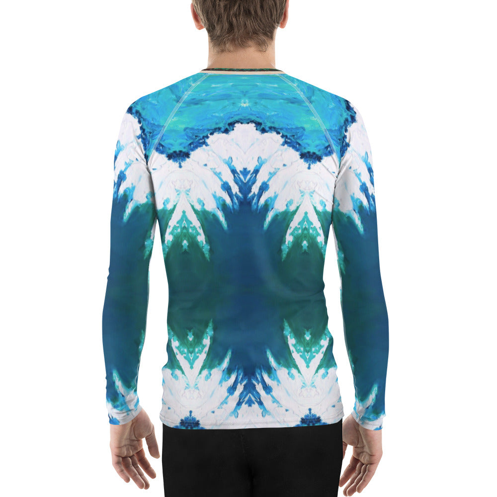 Big Shark's Teeth Men's Rash Guard