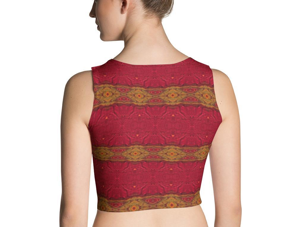 Red Hot Crop Top | Aqua Burns