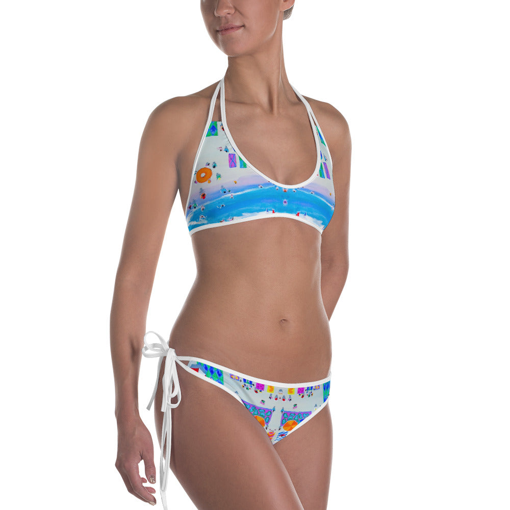 Beach Holiday Bikini | Aqua Burns