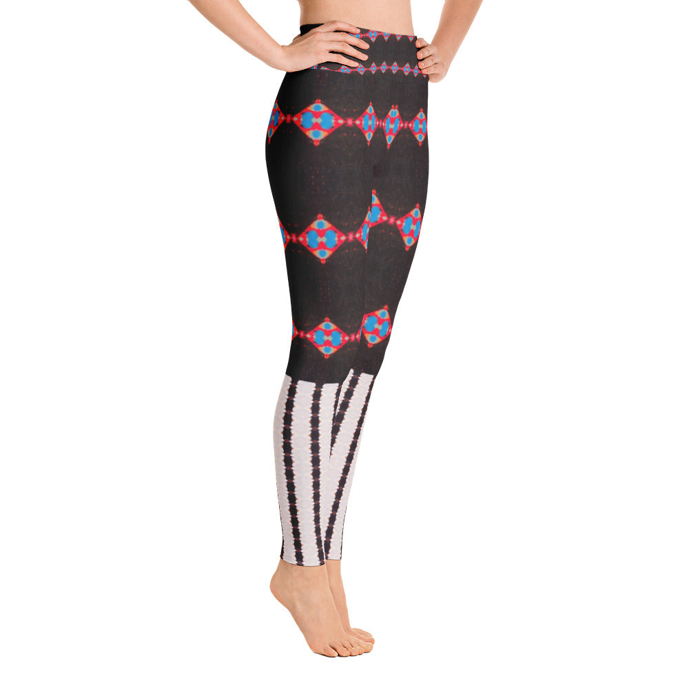 Sensation Stripe Yoga Leggings