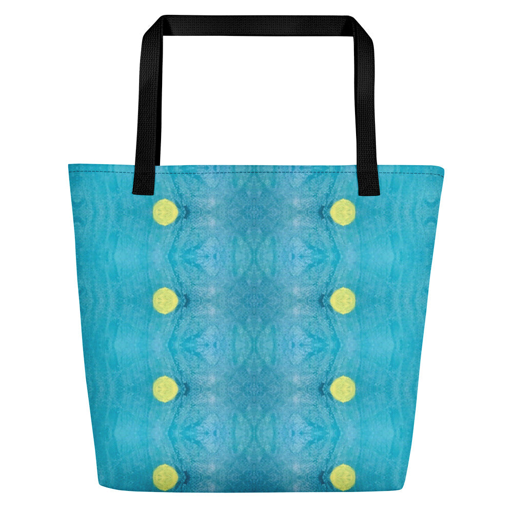 Blue Liquorice Beach Bag | Aqua Burns