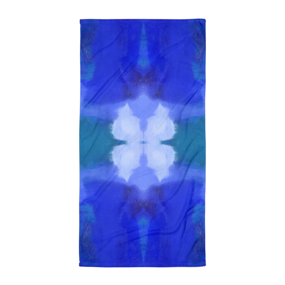 Blue Royale Towel Aqua Burns