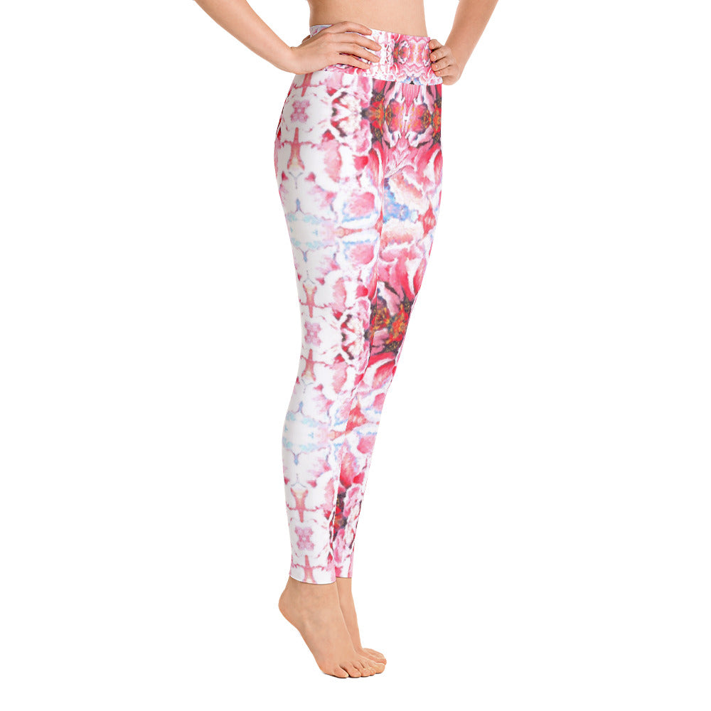 Peony Yoga Leggings UK & World Wide